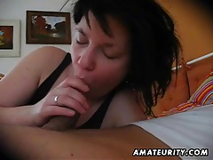 Amateur girlfriend blowjob with cumshot in mouth tubes