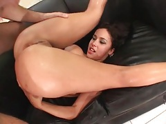 Dirty whore ends up bent over for butt fuck tubes