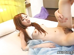 Hot Asian babe nailed by hard cock tubes