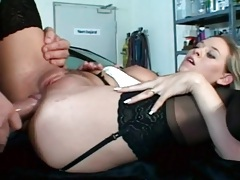 Much anal fucking in a group sex video tubes
