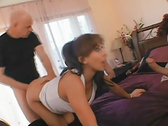 Hubby has fun watching his wife fuck new men tubes