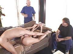 Wife finally gets fucked by the big cock she loves tubes