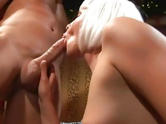Elf fucks girl from behind and fingers her ass tubes