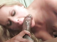 Interracial anal from behind with girl in fishnets tubes