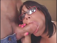Eva Angelina in glasses hardcore video with titjob tubes