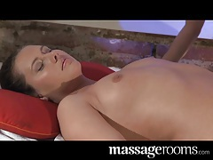 Massage Rooms Tantric gspot orgasm for Zuzana's hairy pussy tubes