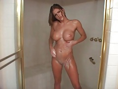 Eve Laurence takes the sexiest shower ever tubes