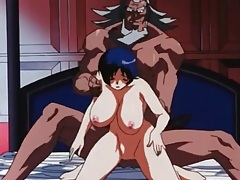 Black cock fucks huge tits hentai girl tube