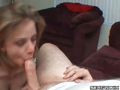 Deepthroat blowjob from young pretty girl tubes