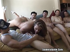 Group Blowjobs For Trina Michael And Got A Facial2 tubes
