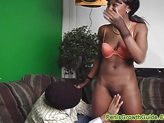 Facial cum shot for hot ebony simone tubes