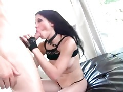 Gorgeous rebeca linares pounded in pussy tubes