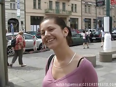 Czech streets - amazing sex in pub toilets tubes