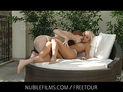 Nubile films - perfect body blonde grace hartley fucks her lesbian lover tubes