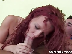 Big tits blonde got a facial cumshot tubes