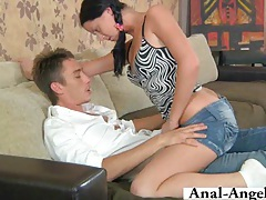 Jana loves getting her ass banged! tubes