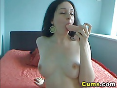 Hottie rides her dildo to orgasm hd tubes
