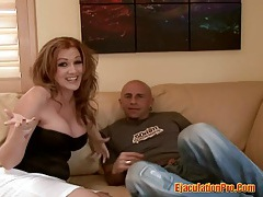 Two blonde chicks enjoyed threesome fucking with a large cock tubes