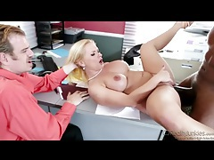 Husband must watch sexy wife go black tubes