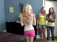 Jayme langford stars in lesbian threesome tubes