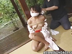 Japanese bondage video rope and tied tubes