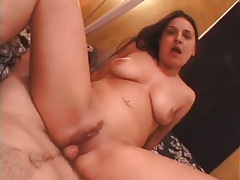 Amateur rubs her clitty and takes cock in her cunt tubes