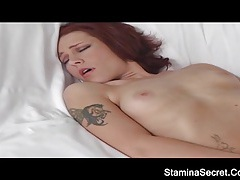 Two hot babe licking pussy and sucking cock tubes