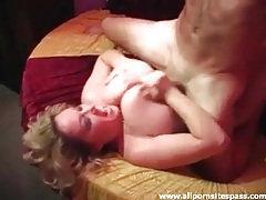 Fucking her big milf tits is his favorite thing tubes