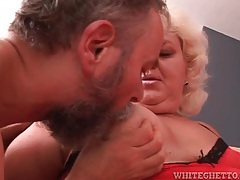 Fat old couple in a hot blowjob video tubes