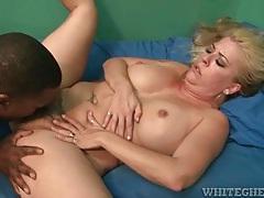 Black guy cums in her armpit tubes