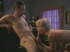 Classy girl in a retro blowjob video cilp tubes