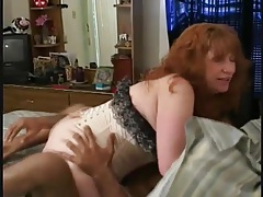 Redhead mature in corset fucked by black cock tubes