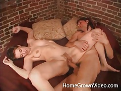 Erotic foreplay with a couple that has great sex tubes