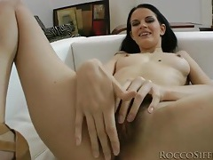 She looks sexy sucking big cock in pov tubes