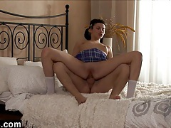 Schoolgirl fucked in the ass hard tubes