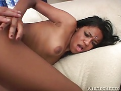 Pretty black girl fucked from behind by big cock tubes
