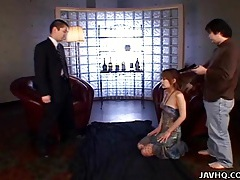 Japanese spy babe gives a hot double blowjobs uncensored tubes