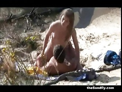 Thesandfly fantastic beach pussy play! tubes