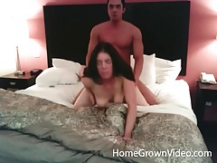 Couple does great doggystyle and cock riding sex tubes