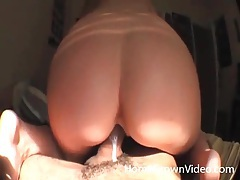 She rides bf big black cock in reverse cowgirl tubes
