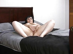 Masturbating and fucking on her webcam tubes
