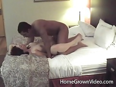Amateur couple makes hardcore porn in a hotel room tubes