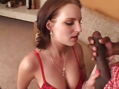 She arouses him with lingerie bj and they have hot sex tubes