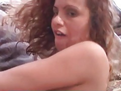 Curly hair hottie with big fake tits pov fuck tubes