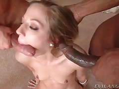 Big facials for this naughty cocksucking sluts tubes