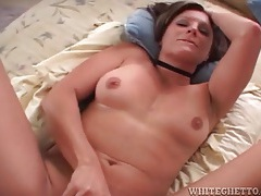 Cute cock rider moves to her back for more fucking tubes