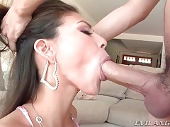 Pure beauty sucks nuts and gets face fucked tubes