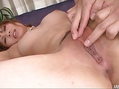 Shaved head guy goes down on japanese hottie tubes