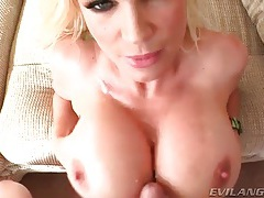 Big titties and pretty faces take hot cumshots tubes
