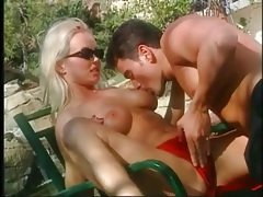 Licking and fingering gorgeous sylvia saint outdoors tubes
